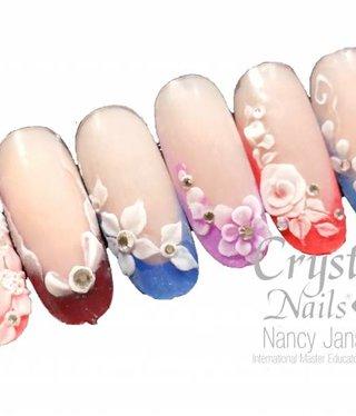 Crystal Nails Basis 3D Acryl technieken