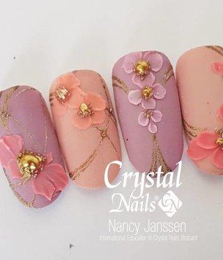 Crystal Nails Flower Vintage Lace Gel