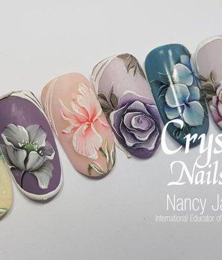 Crystal Nails Gel Painting niveau 3