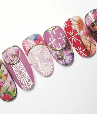 Crystal Nails Waterdecal Mix