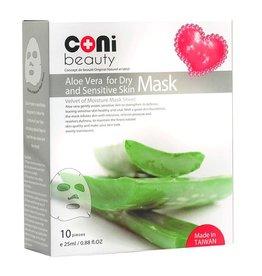 Aloe Vera Tuchmaske für trockne und empfindliche Haut 10er Packung