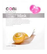 Goldene Schnecke Total-Effekt Detox Tuchmaske
