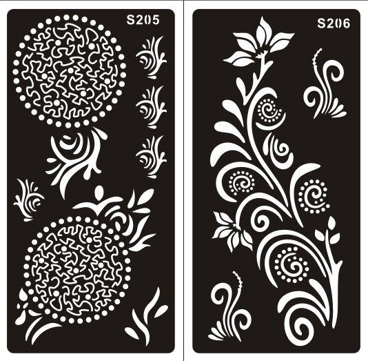Henna Muster Schablone : 29 elegant henna muster schablone hand ~ Frokenaadalensverden.com Haus und Dekorationen