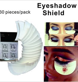 Shadow Shields Selbstklebende Lidschatten Shields Pads Abdeckungen für Augen Make Up Hilfe 30 Stück