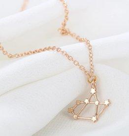 Sternzeichen Halskette Schütze gold