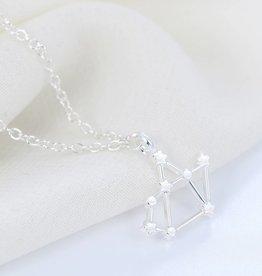 Sternzeichen Halskette Schütze silber