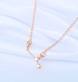 Sternzeichen Halskette Widder gold