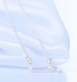 Sternzeichen Halskette Widder silber