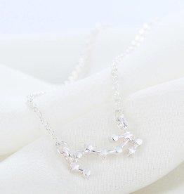 Sternzeichen Halskette Skorpion silber