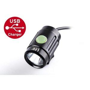 MTB LED Fiets en Hoofdlamp Ultralight 1000 Lumen