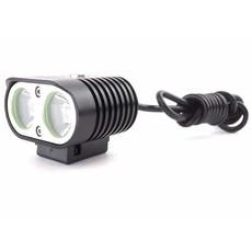 MTB LED compact 2000 Lumen Fietslamp & Hoofdlamp