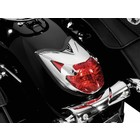 Highway Hawk Taillight Cover Chrome ABS