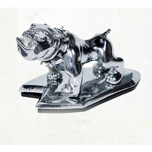 Highway Hawk Angry bulldog Ornement Chrome