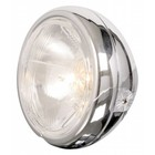 Highway Hawk Headlight 4-1/2 chromed side mount E-mark - 222-090