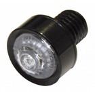 Highway Hawk LED Taillight unit black dia. 18 mm E-mark - 255-015