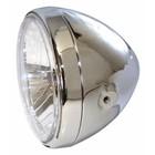Highway Hawk Headlight 7 inchside mount Chromed E-mark - 223-145