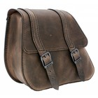 Highway Hawk Single Sided Bag H-D Dyna Brown - LZAD2-1088