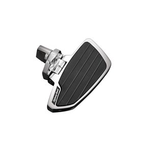 Highway Hawk Floorboard Set Smooth Passenger Chrome