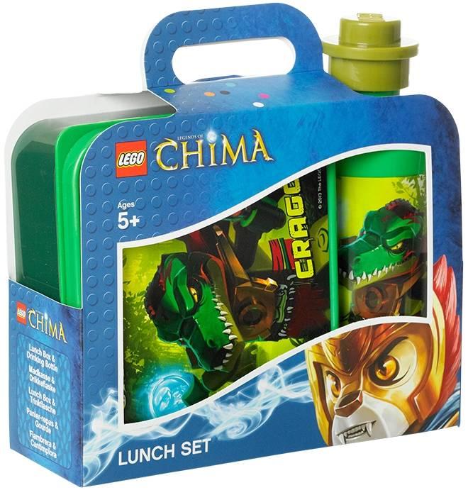 LEGO Chima Lunchset groen