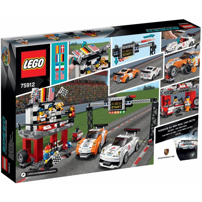 lego speed champions 75912 porsche 911 gt finish. Black Bedroom Furniture Sets. Home Design Ideas