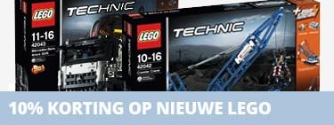 10% korting op LEGO