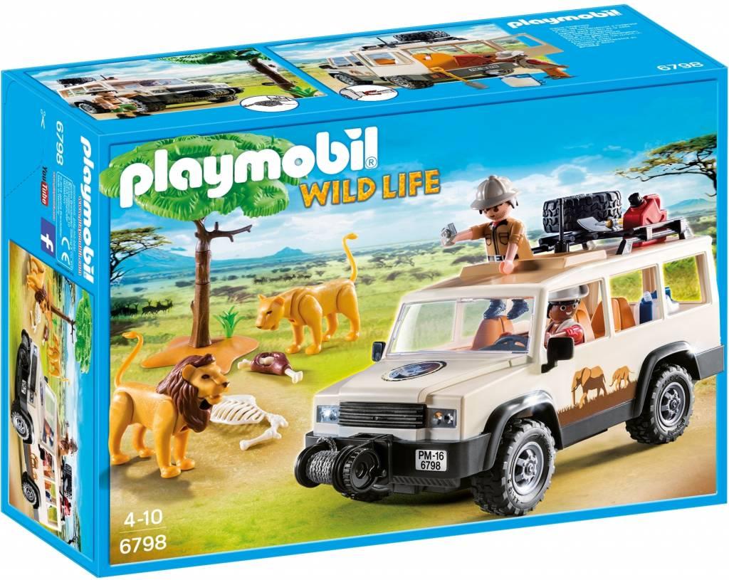 Safari 4x4 met lier Playmobil