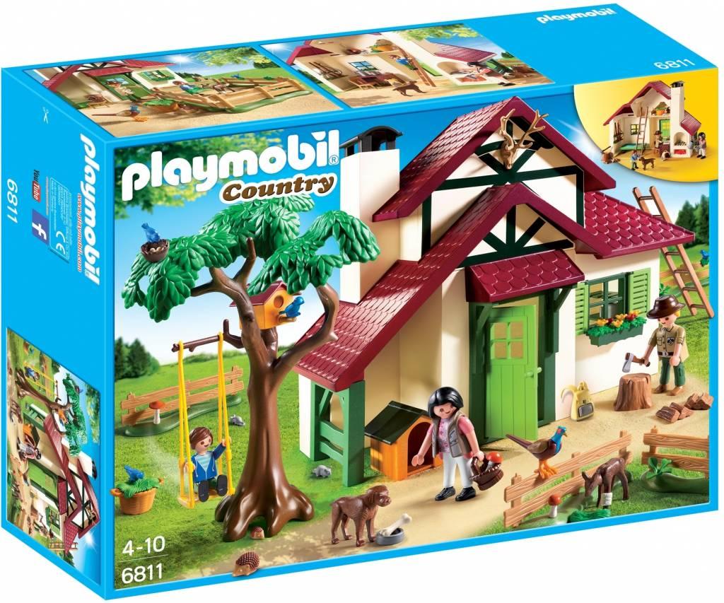 Boswachtershuis Playmobil