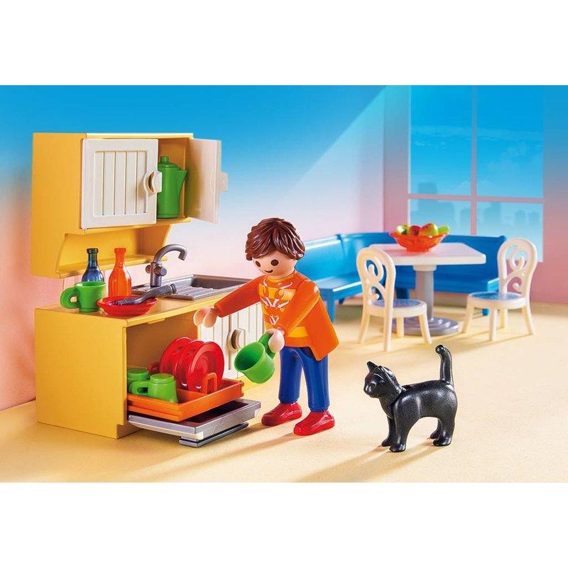 Keuken Met Zithoek : Playmobil 5336 Keuken met zithoek – Fokkido.com