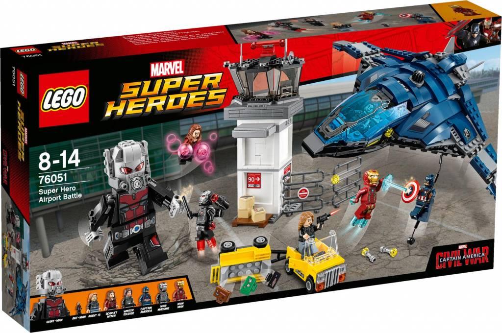 LEGO 76051 Super Hero Vliegveldduel