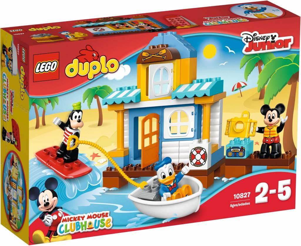 Lego duplo 10827 disney mickey & friends: micky's strandhuis