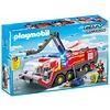 Luchthavenbrandweer met licht en geluid Playmobil
