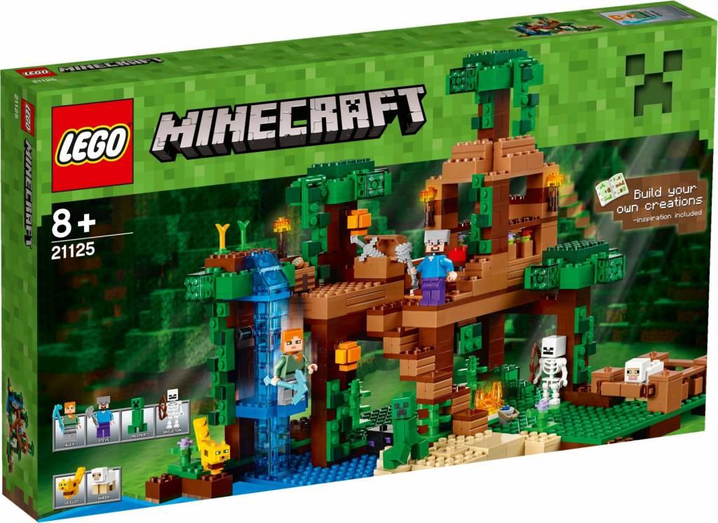 LEGO 21125 De Jungle Boomhut