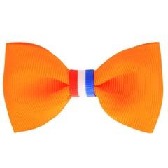 Haarspeldjes.com Koningsdag haarspeldje oranje