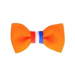 Your Little Miss Koningsdag baby haarspeldje oranje