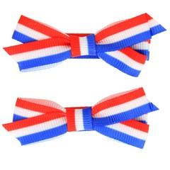 Your Little Miss Koningsdag haarspeldjes nederlandse vlag