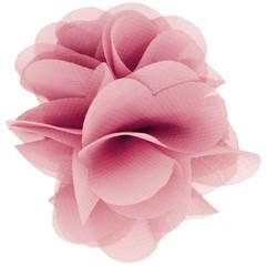 Haarspeldjes.com Haarspeld met bloem roze