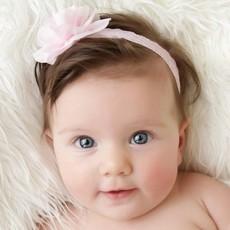 Baby haarbandjes met bloemen