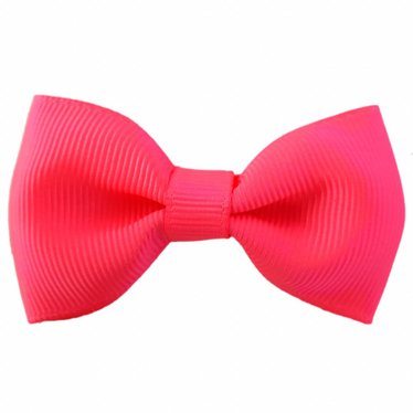 Your Little Miss Haarspeld met neon roze strik