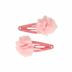 Your Little Miss Oudroze baby haarspeldjes met roze bloem
