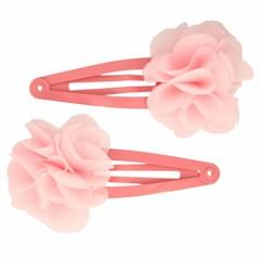 Your Little Miss Oudroze haarspeldjes met roze bloem