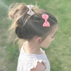 Your Little Miss Haarspeldje peach