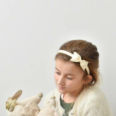 Your Little Miss Diadeem strik ivoor
