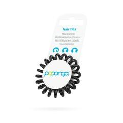 Papanga Papanga spiraal elastiek  klein zwart
