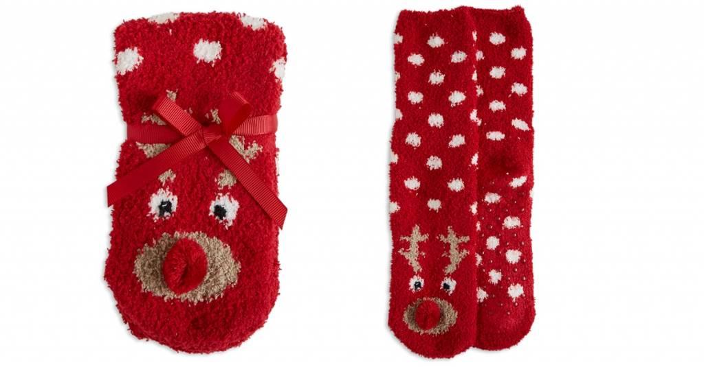 Deze sokjes zijn een echte kerst MustHave voor jouw meisje!