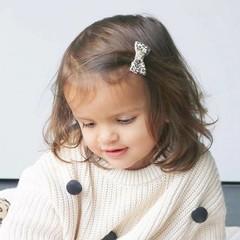Your Little Miss Baby haarspeldje leopard print