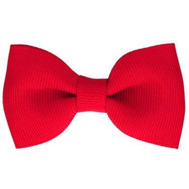 Your Little Miss Haarspeldje met strik hot red