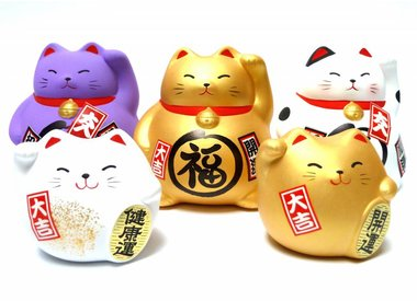 Maneki Neko (Japanese lucky cat)