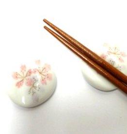 Chopsticks onderzetter Sakura wit