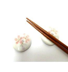 Chopsticks rest Sakura white
