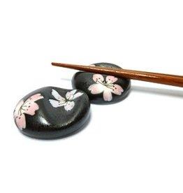 Chopsticks onderzetter Sakura zwart